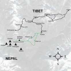 Carte Trek Kharta Everest