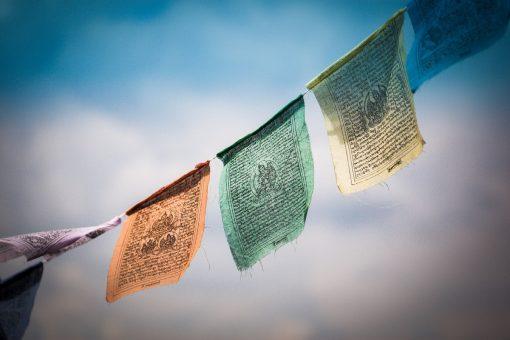 Drapeaux-prières-tibet